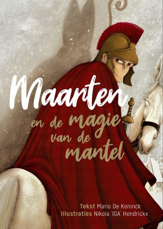 Kijk- en voorleesboek 'Maarten en de magie van de mantel'