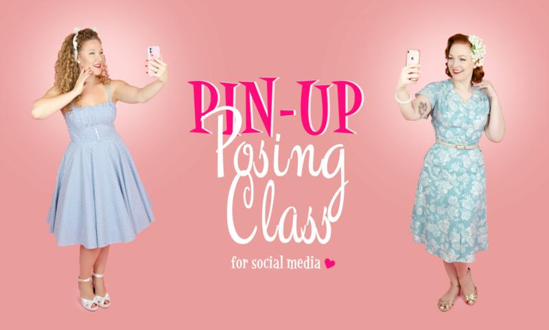 Pin-Up Posing Class - 29/11/2020 om 14u