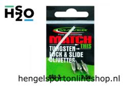 Maver Match This Lock Slide Tungsten Olivettes