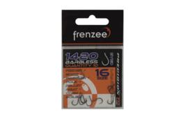 Frenzee 1420 Barbless Eyed Hooks Size 16
