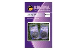 Ashima Lead Clip Set Brown - Green