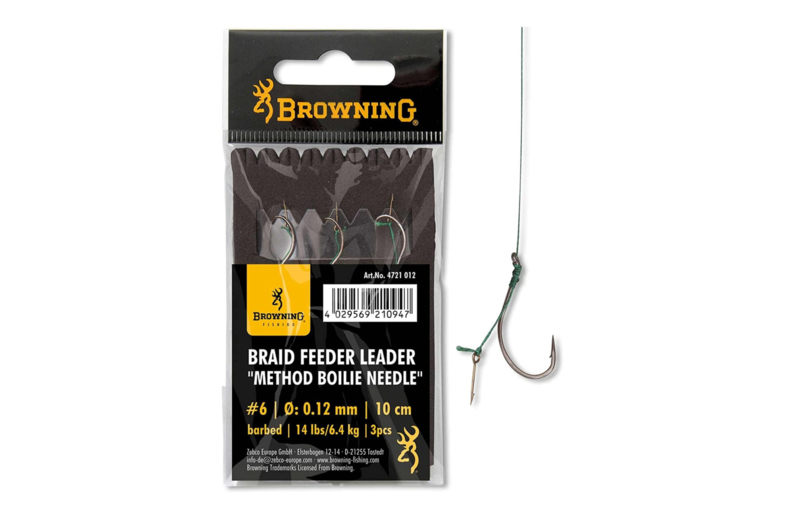 Browning Braid Feeder Leader Method Boilie Needle