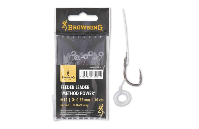 Browning Feeder Leader Method Power Pellet Band