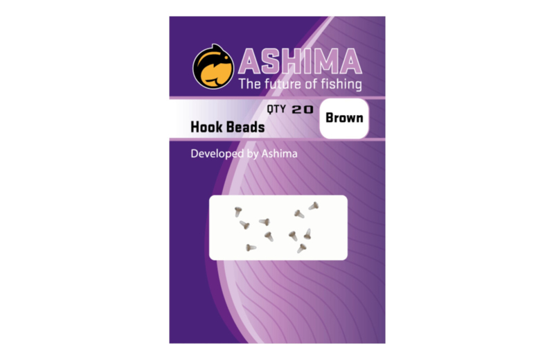 Ashima hookbeads Brown - Green