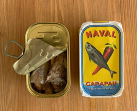 Horsmakreel in pittige plantaardige olie (Naval)