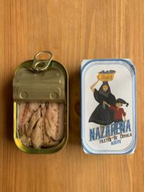 Makreelfilets in olijfolie (Nazarena)