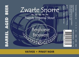 Berghoeve - Zwarte Snorre Vat #35