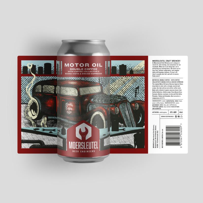 Moersleutel - Motor Oil Double Coffee