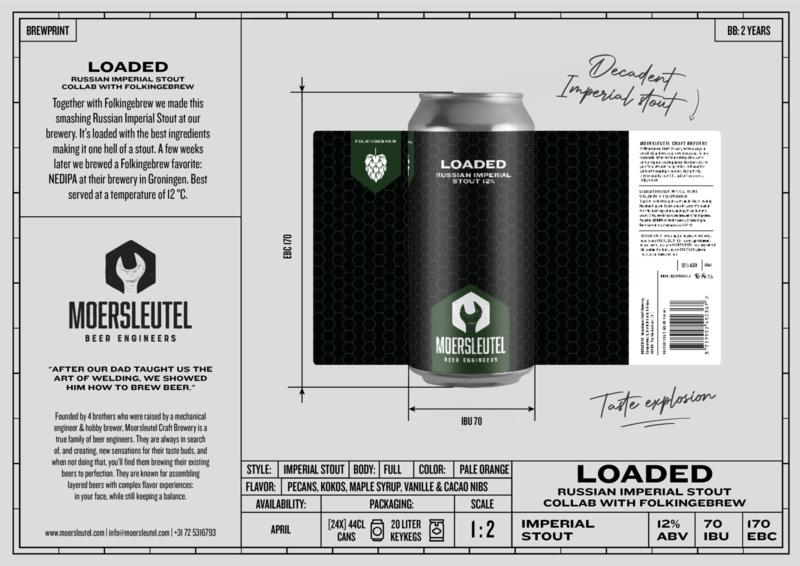 Moersleutel & Folkinge Brew - Loaded