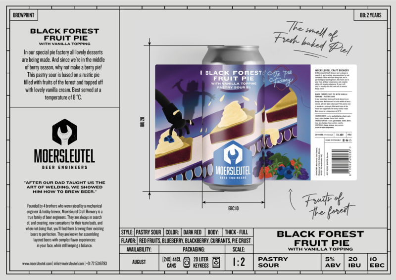 Moersleutel - Black Forest Fruit Pie