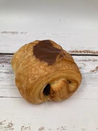 Chocolade broodje + pudding