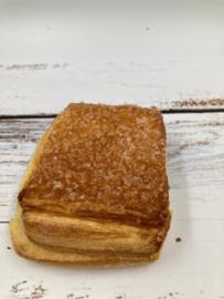 Vierkant pudding groffe suiker