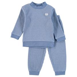 Pyjama - Melange - Blauw