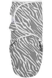 Meyco - Inbakerdoek - Zebra - 0 tot 3 maanden