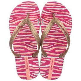 Ipanema - print - roze met beige - biggirls