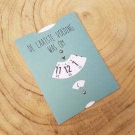 Voedingskaart mint