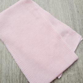 Lichtroze sjaal