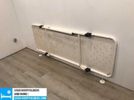 2 pcs. Shower brancard - foldable -  wall mount
