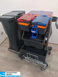 3 PCS CLEANING CART