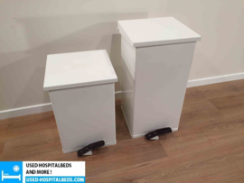 various dirt bins & paperholders