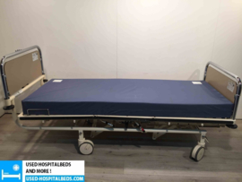 160 PCS. STIEGELMEYER 3-SECTION HYDRAULIC HOSPITALBED NR 22A