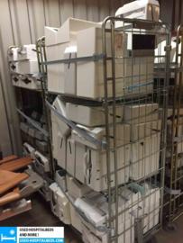 various dirt bins & paperholders