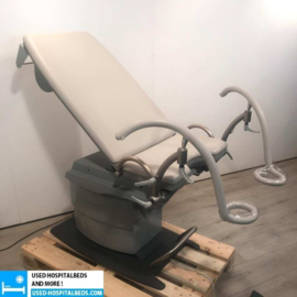 "1 PCS GYNEGOLOGICAL CHAIR ""KARL BAISCH"" DE LUXE GREY"