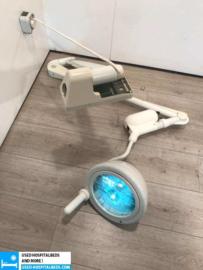 2 PCS. HANNAULUX OPERATING THEATRE LAMP HEIDELBERG