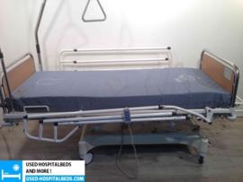 2 PCS. STIEGELMEIJER SEMI IC HOSPITALBED
