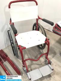 "1 pcs. complete shower ""set"" brancard on wheels, wheelchair etc."