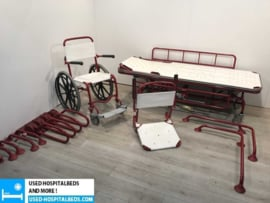"1 pcs. complete shower ""set"" brancard on wheels, wheelchair etc."