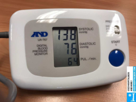 1 PCS AND BLOOD PRESSURE METER