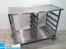 bric a brack double washing trolley