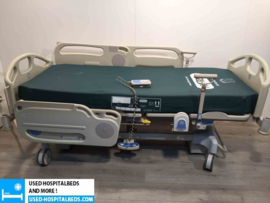 5 PCS. HILLROM AVANT GUARD 1200 SEMI IC HOSPITALBED