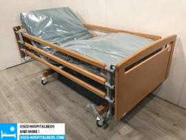 20 PCS. HAELVOET 3-SECTION ELEKTRIC USED HOSPITALBED NR 74B