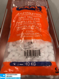 10 KG BAGS SALT TABLETS