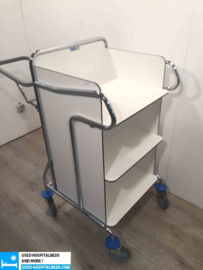 1 pcs laundry bag holder on cart
