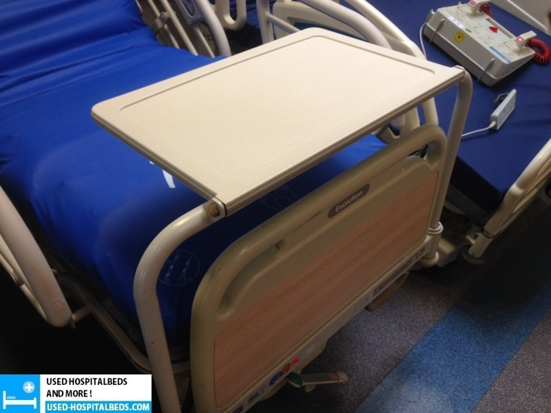 Equipment table for HillRom IC beds