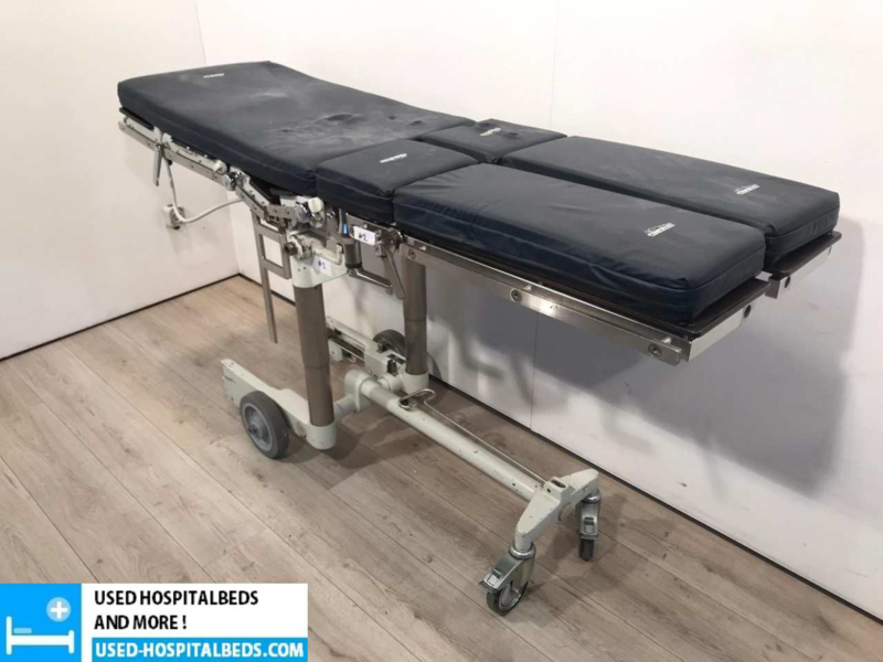 #2 MAQUET 1120 TABLE + TROLLEY