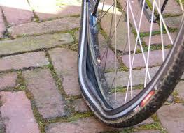 Pech bij onderweg service per fiets