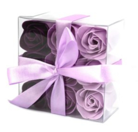 9 rozen lavendel