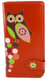 retro owl red