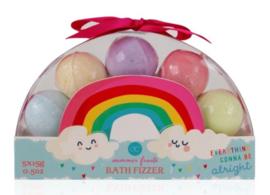 Bruisballen Over the rainbow