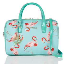 Shagwear tas flamingos mint
