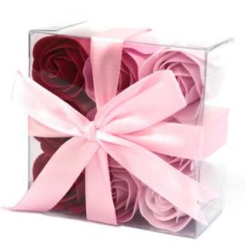 9 rozen roze
