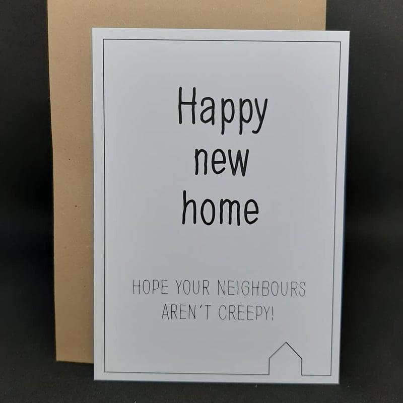 Happy new home