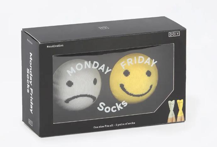 Monday - Friday socks