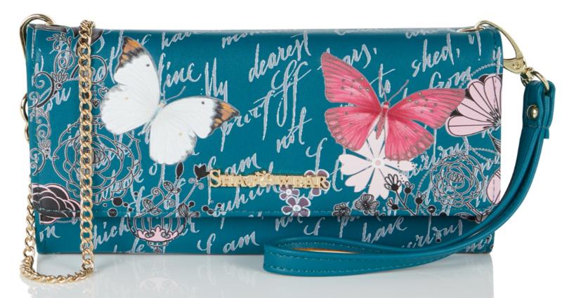 Shagwear tas butterfly clutch
