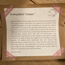 """Boekpakket """"roman"""""""
