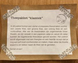 """Theepakket """"klassiek"""""""